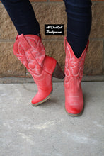 Very Volatile | Denver Cowgirl Boots Red