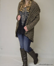 Lily | Crochet Mocha Cardigan - All Decd Out
