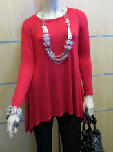 The Hanger | Tunic Top Red