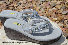 Very Volatile Rock Candy Sandal Silver