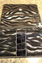 ADO | Black Zebra Trifold Wallet - All Decd Out