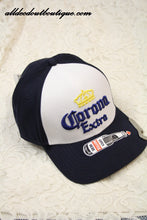 Corona Extra | Navy Blue and White Ball Cap