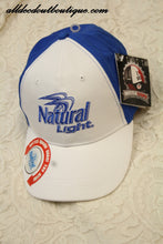 Natural Light | Blue And White  Ball Cap