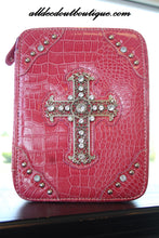 ADO | Dark Pink Embellished Bible Cover - All Decd Out