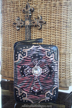 ADO | Silver Zebra and Black Embellished Bible Cover