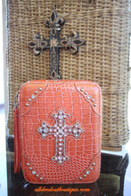 ADO | Orange Embellished Bible Cover