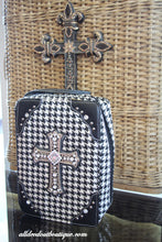 ADO | White and Black Embellished Bible Cover