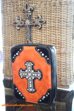 ADO | Orange and Black Embellished Bible Cover