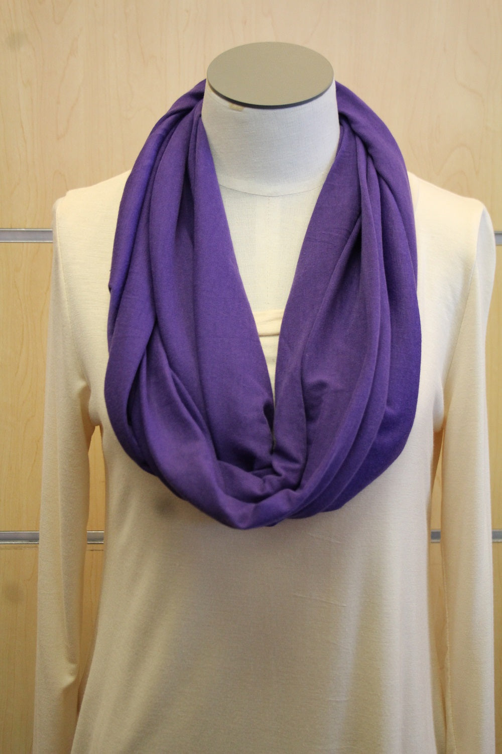 ADO | Infinity Deep Purple Scarf - All Decd Out