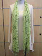 ADO | Wrap Green Peace Sign Scarf