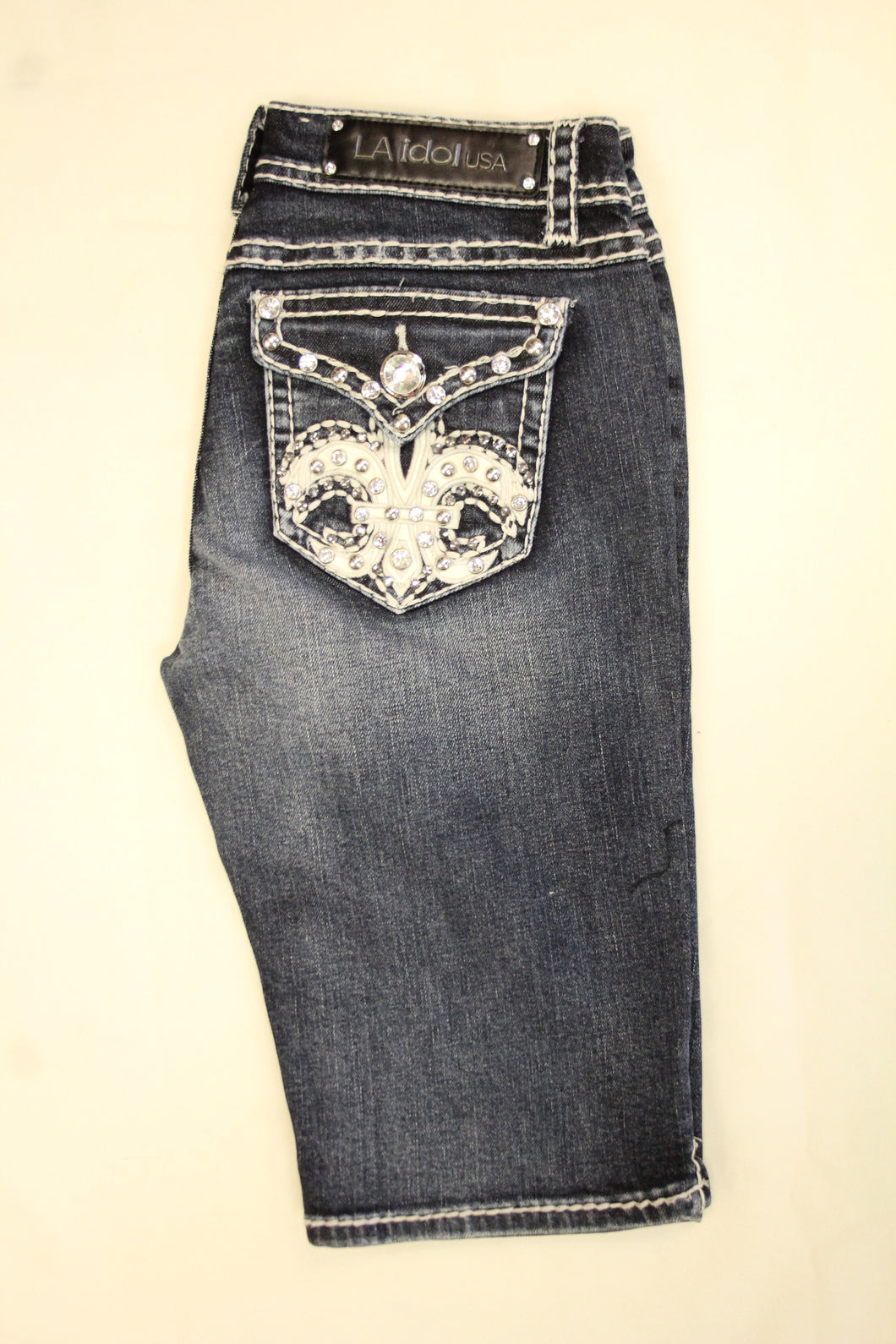 L.A. Idol | Bling FDL Pocket Bermuda Shorts