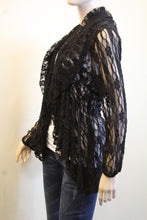 Lady Noiz | Lace Cardigan Black