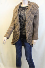 Lily | Crochet Mocha Sweater Cardigan