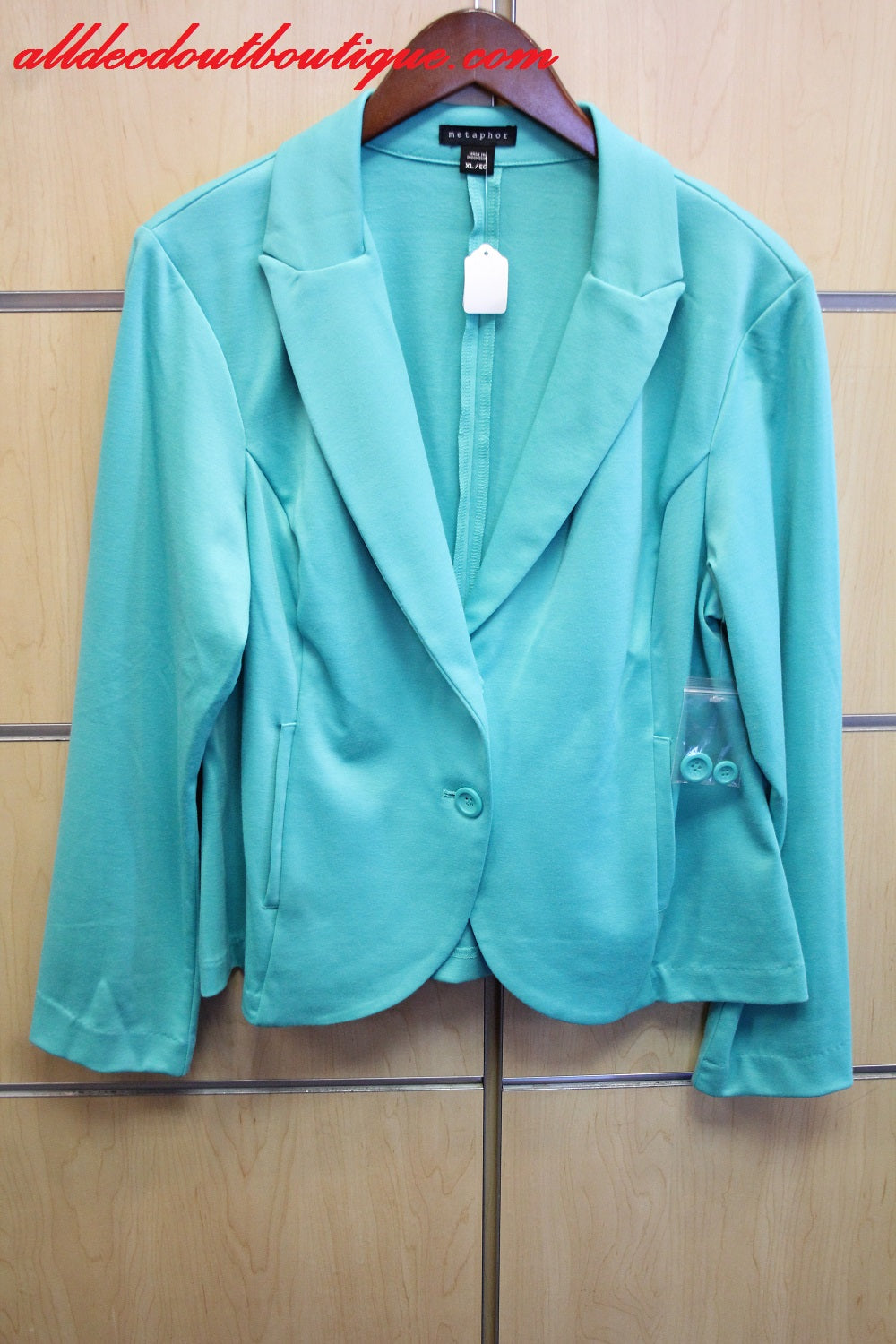 Metaphor | Mint Blazer
