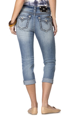 Miss Me | Denim Capris JB5014P89