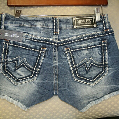 Miss Me | Denim Shorts