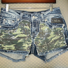 Miss Me | Camo Shorts