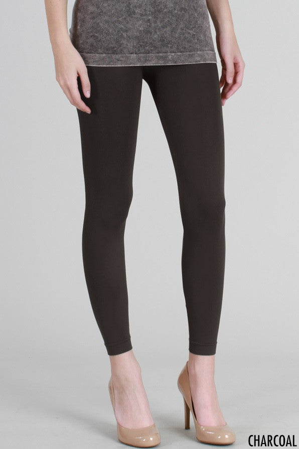 PB3014 Micro Modal Ankle length Leggings Charcoal