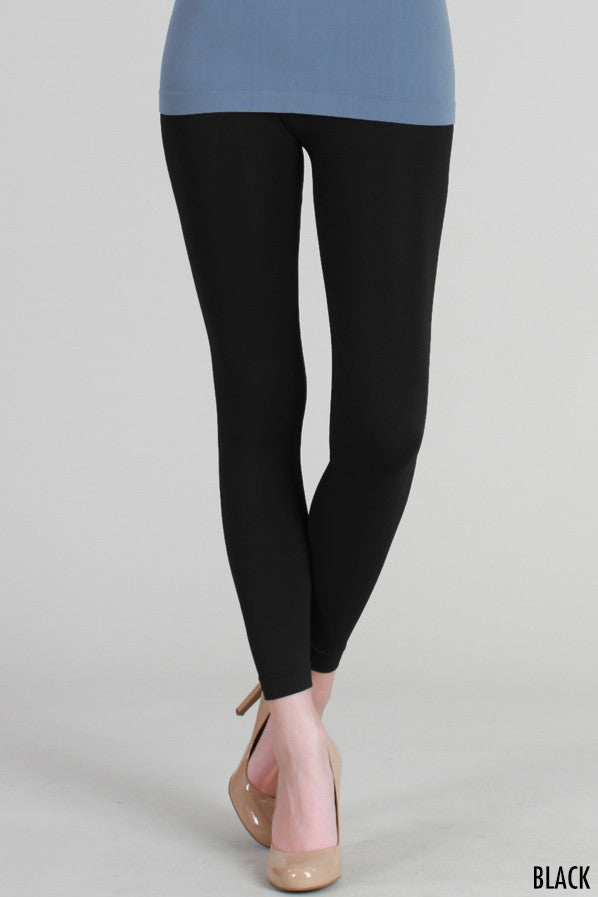 PB3014 Micro Modal Ankle length Leggings Black
