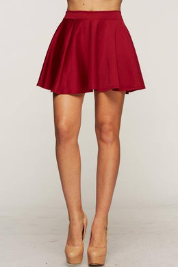 ADO | Skater Skirt Burgundy