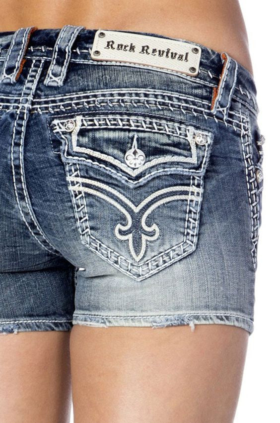 Rock Revival | Clover Shorts - All Decd Out