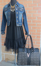 L.A. Idol | Jeweled Dark Denim Jacket