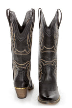Very Volatile Raspy Cowgirl Boots Black | All Dec'd Out