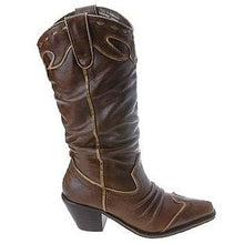 Very Volatile Rawhide Cowgirl Boots Brown | All Dec'd Out