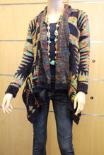 Renee C. | Aztec Pattern Multi Color  Sweater Cardigan