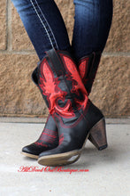 Very Volatile | Rio Grande Cowgirl Boots Black/Red