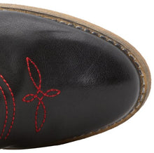 Very Volatile Rio Grande Cowgirl Boots Black/Red | All Dec'd Out