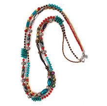 Treska | 2 Strand Beaded Necklace - All Decd Out