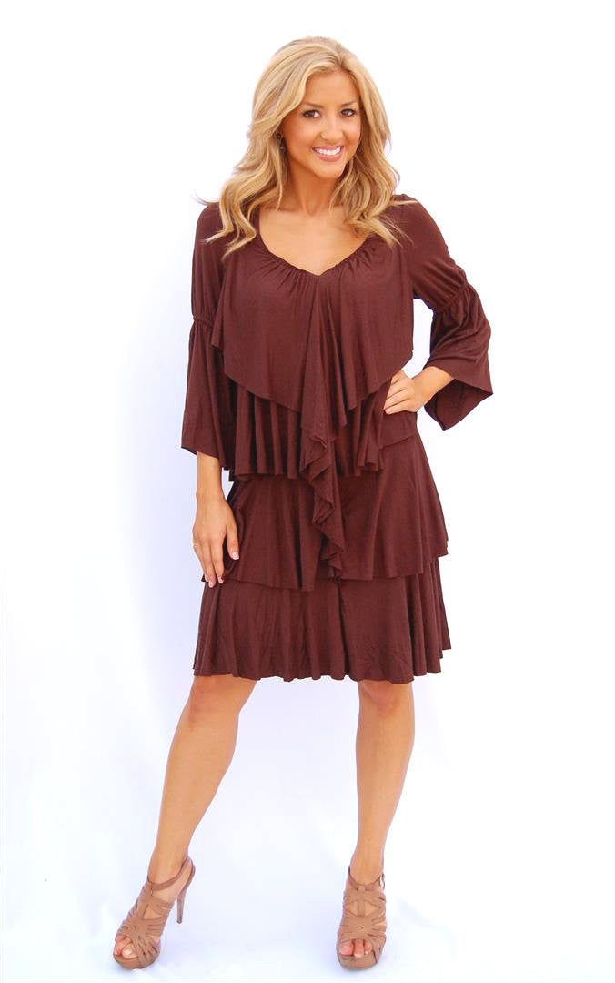 Urban Mango Chocolate Layer Dress | All Dec'd Out