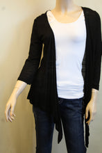 Urban Mango | Cardigan with Crochet Back Black