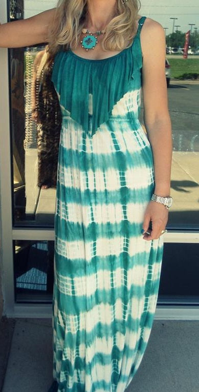 T*PARTY | Maxi Dress Teal