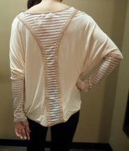 Umgee | Dolman Top with Back Detail Natural
