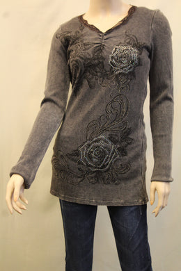 Vocal | Thermal With Lace & Bling Top