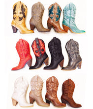 Very Volatile Denver Cowgirl Boots Red | All Dec'd Out