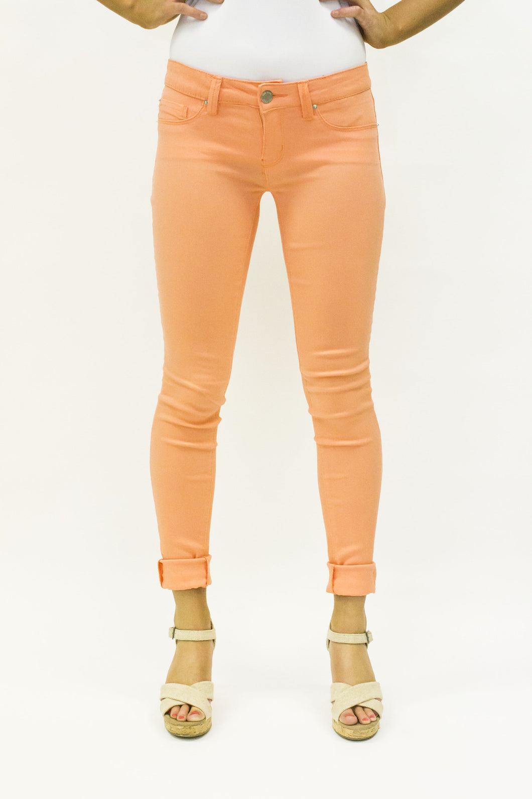YMI Royalty For You Junior Hyper Stretch Skinny Nectarine | All Dec'd Out