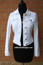 YMI | Denim Jacket White