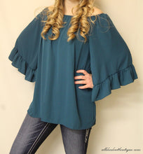 Yahada | Off The Shoulder Tunic Teal