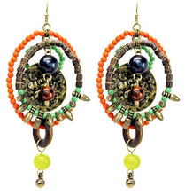 Treska | Multi Hoop Beaded Earrings - All Decd Out