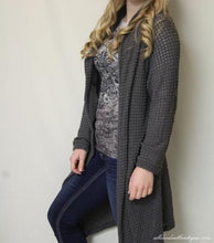 Honey Punch | Knit Cardigan Charcoal - All Decd Out