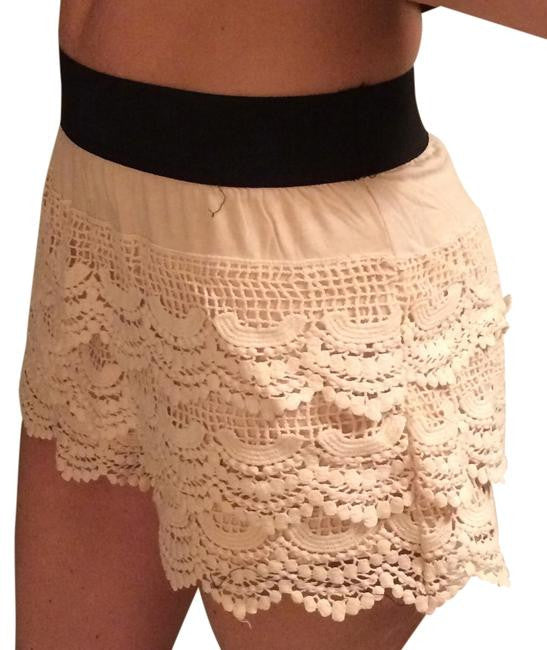 Umgee | Lace Shorts Natural