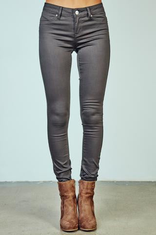 YMI Royalty For You Hyper Stretch Skinny Charcoal