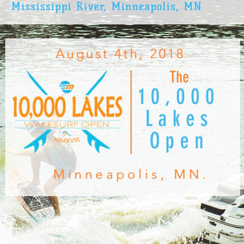 10K Lakes WakeSurf Open - Official Sponsor