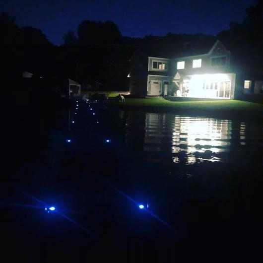Best LED Dock Lights - Solar Powered and Wireless