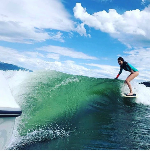 Make your wake a WAVE with NautiCurl Wake Shapers