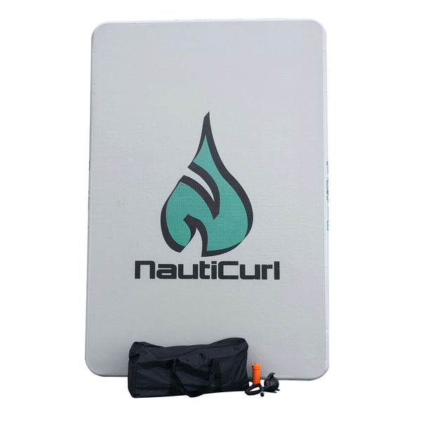 The NautiPAD Inflatable Swim Pad - Made for Fun!