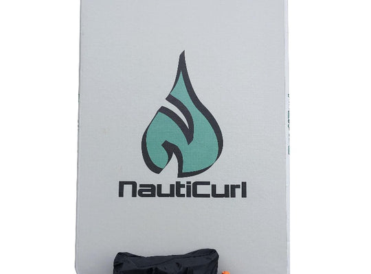 NautiCurl Inflatable Swim Mat Pad - Water Lily Pad swimming mat